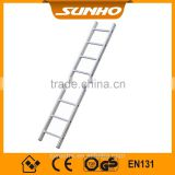 Industrial aluminium straight step multifunction ladder