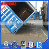 20ft Galvanized Steel Rolling Plastic Container Storage