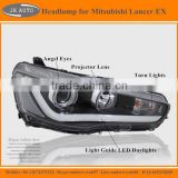 High Quality LED Headlamp for Mitsubishi Lancer EX Best Selling LED Headlights for Mitsubishi Lancer EX LED Front Lights