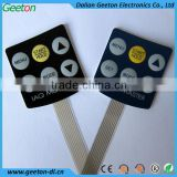 Tactile Embossing Membrane Switch Panel Sticker