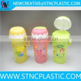 480ml fruit shaped Water Bottles Stocked,Eco-Friendly Feature Party Gifts Item Kids Cup Straw