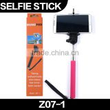 Hot!!KJSTAR Extendable Self Portrait Tripod Monopod Selfie Stick Cheapest Z07-1 for iOS Android Smart Mobile Phone