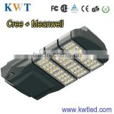2013 High power led street light circuit cree chip+MW driver ce rohs tuv gs saa approved