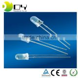 5mm round water clear led diode through hole                                                                                                         Supplier's Choice