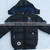 2012 boys stylish quilted shiny padded jacket