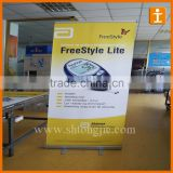 Economical roll up display, rollup banner stand in roll up display