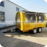 2014 Newest Factory Supply Ice Cream Tricycle Food Trailer Cart with Display Freezer Refrigerator XR-FC350 D