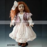 High Quality Lovely dancing girl dolls 22 inch porcelain collectible doll