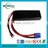 New Arrival High Power Long Cycle Time 3.7v Airplane Battery Manufacturer
