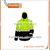 High Visibility Waterproof Winter Parka