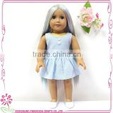 "18"" Fashion American Girl Doll Plastic Model Vinyl Baby Doll"