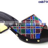 CSB7149 black - blue New coming design Italian style hot selling beautiful high quality shoes for matching clothes