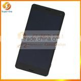 100% full Genuine original LCD screen for Sony Z3 Complete Black LCD digitizer display