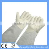 Top Quality LN2 Cowhide Grain Leather Industrial Leather Hand Gloves