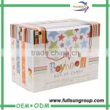 Wholesale gift custom acrylic wedding invitation card box