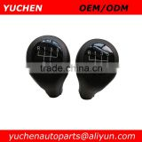 Wholesale YUCHEN Manual MT Gear Car Shift Knob Black For BMW 1 3 5 6 Series E46 E39 E30 E32 E34 E36 E38 led gear shift knob