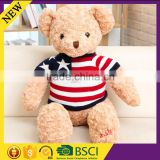 Christmas gift children lovley doll toy clothes lovley cute crochet knitted bear clothes
