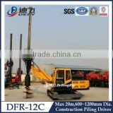 Hydraulic cylinder for pile driving barge,Cable piling driver machines DFR-12C