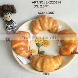 "2013Artificial Fruits 2.5*4"" Artificial Plastic Fake Bread Home Dining-Table Bakery Decoration"