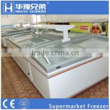 HYSW-1865 direct cooling supermarket freezer,refrigerator freezer for commercial use