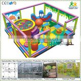 Free design CE & GS standard eco-friendly LLDPE kids indoor playground wooden toy