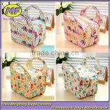 Wholesale Fashion Cartoon Design Custom High Quality KidsTote Cooler Lunch Bag Hot Sale