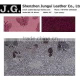 Nonwoven backing glitter pu synthetic leather for bags, shoes, gift boxes and phone cases