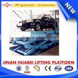 convenient parking car lift / hydraulic elevator for parking house