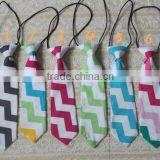 2013 Hot Sale New Design Baby Neckwear Zig Zag Chevron Tie
