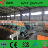 Production line and technology for manufacturing welding electrodes