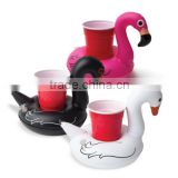 Giant Rideable Swan Inflatable Float Toy with drink holder
