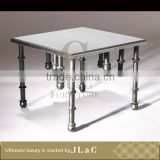 Luxury Living Room AT0-3 Elegant Three Pole Stand Tea Table High-end Furniture Factory Price From China JL&C Furniture
