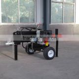 hot selling 42t 610mm hydraulic log cutter and splitter machine with log tray from China