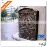 die casting modern wall mount aluminum letter box mail box post box mailbox