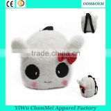 Plush bag panda rabbit plush animal bags toy children backpack gift for kids                                                                                                         Supplier's Choice