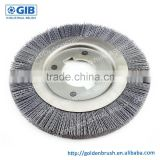 High Quality Abrasive Nylon Wheel Brush, Customized Wheel Brush, Outside Diameter 220 mm