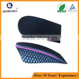 Pu taller increasing soles hidden sports shoes increasing height insoles slimmer lady men increase insoles
