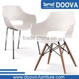 New design durable ABS white plastic chair                                                                         Quality Choice