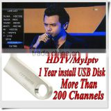 Free Shipping 128M USB IMalaysia iptv box apk account Malaysia Sports channels with 1/3/6/12 months validity HDTV MyIptv