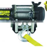 Mini 12v electric portable winch NVT1700(1500lbs)