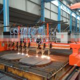 H beam Production Line Multi Strip flame cutting machine for Aluminum Sheel Metal Cutting Machine