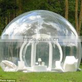 Beautiful customized clear inflatable tent