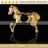 guangzhou custom made various arts and crafts finished in 24k gold