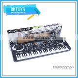 Hot Sale New 61 Key Electronic Keyboard With Microphone Radio Piano Instruments Play Kids Toys
