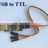 USB 2.0 to TTL UART com Module SERIAL CONVERTER Adapter 6pin CP2102 With Cable