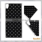 Baby-Breath Rhinestone Plating Hard Case Cover for Sony Xperia Z4, Bling Bling case for Sony Z4
