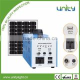 Solar Generator 220V Portable 50W Solar Home System for Charging Mobile Phone and Lighting