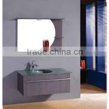 modern desings plywood / MDF / oak wood bathroom cabinet in a high quality