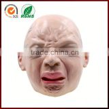 Wholesale Masquerade Halloween Party Costume Funny Realistic Crying Baby Latex Mask