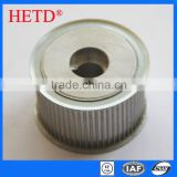 HETD brand Plain bore(XL-L-H) XL Type pulley Aluminum Timing Belt Pulley transmission parts L050